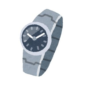 ジャパネットファン 腕時計 イラスト1
