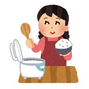 ジャパネットファン 炊飯器 イラスト1