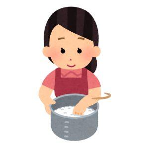 ジャパネットファン 炊飯器 イラスト2