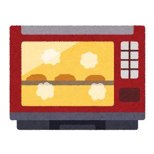 ジャパネットファン 電子レンジ・オーブン イラスト1