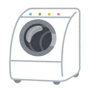 ジャパネットファン 洗濯機 イラスト2