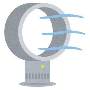 ジャパネットファン 扇風機 イラスト2