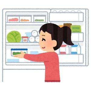 「冷蔵庫 開ける イラスト」の画像検索結果