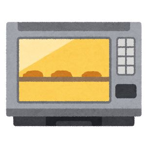 ジャパネットファン 電子レンジ・オーブン イラスト2
