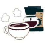 ジャパネットファン コーヒーメーカー イラスト1